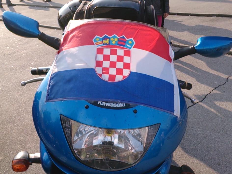 Karavana hrvatskih bikera Prevalaka — Vukovar u Đakovu