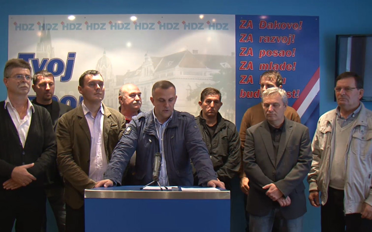 HDZ ĐAKOVO – press konferencija
