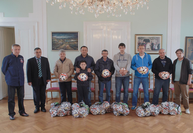 Donacija sportske opreme nogometnim klubovima