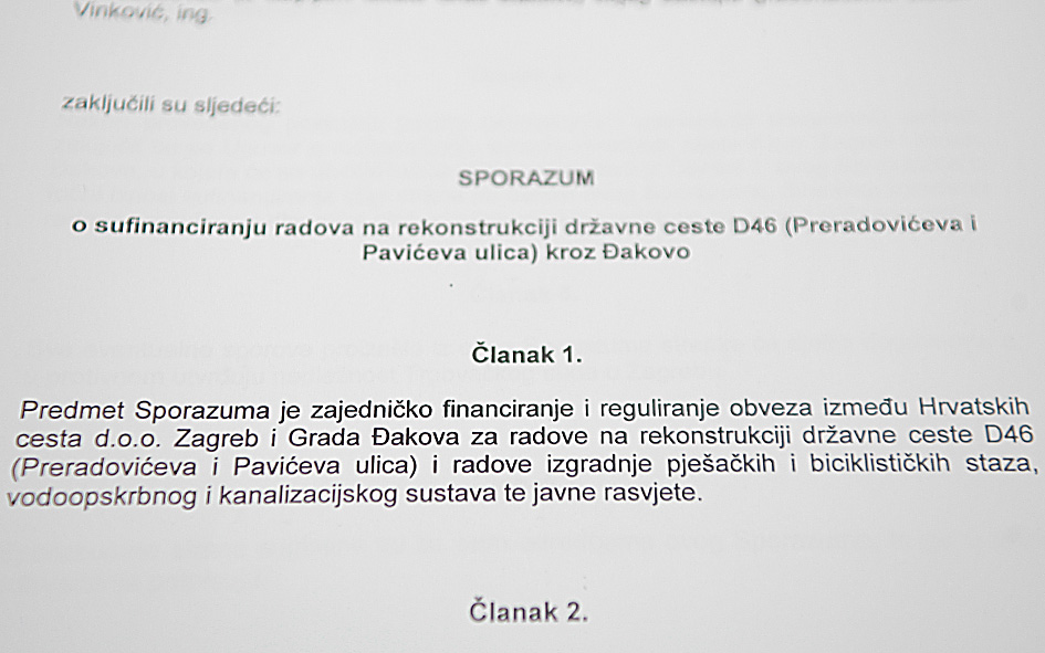 Rekonstrukcija Preradovićeve ulice – press konferencija