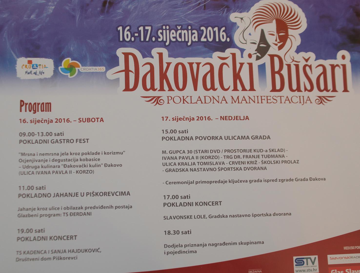ĐAKOVAČKI BUŠARI 2016.
