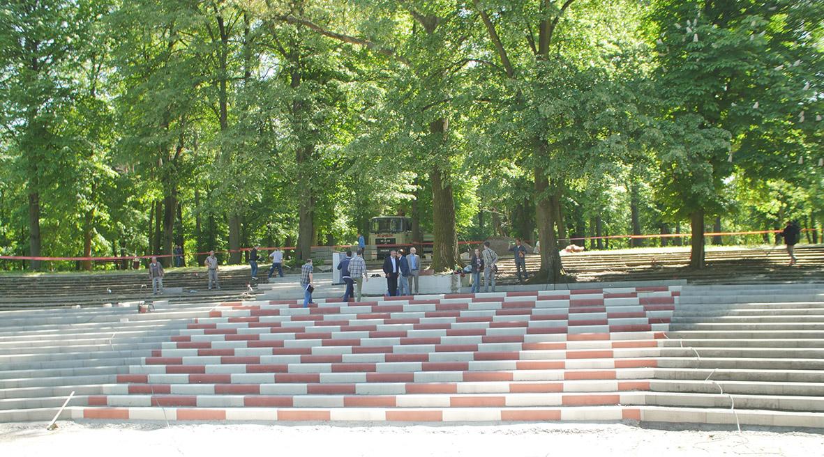 Infrastrukturno uređenje Strossmayerova parka