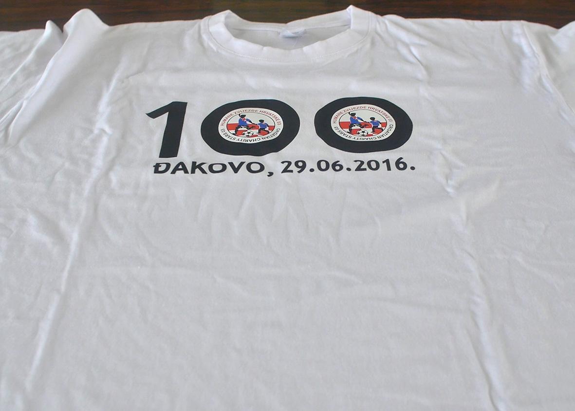 Humanitarna nogometna utakmica u Đakovu