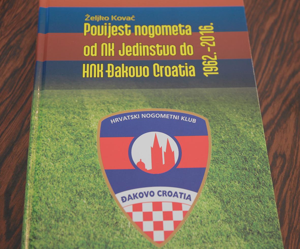 Promocija knjige o povijesti nogometa u Đakovu