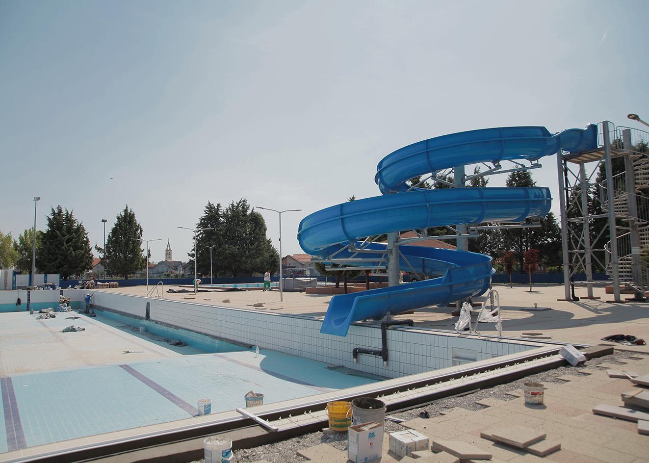 Rekonstrukcija Gradskih bazena uoči nove kupališne sezone