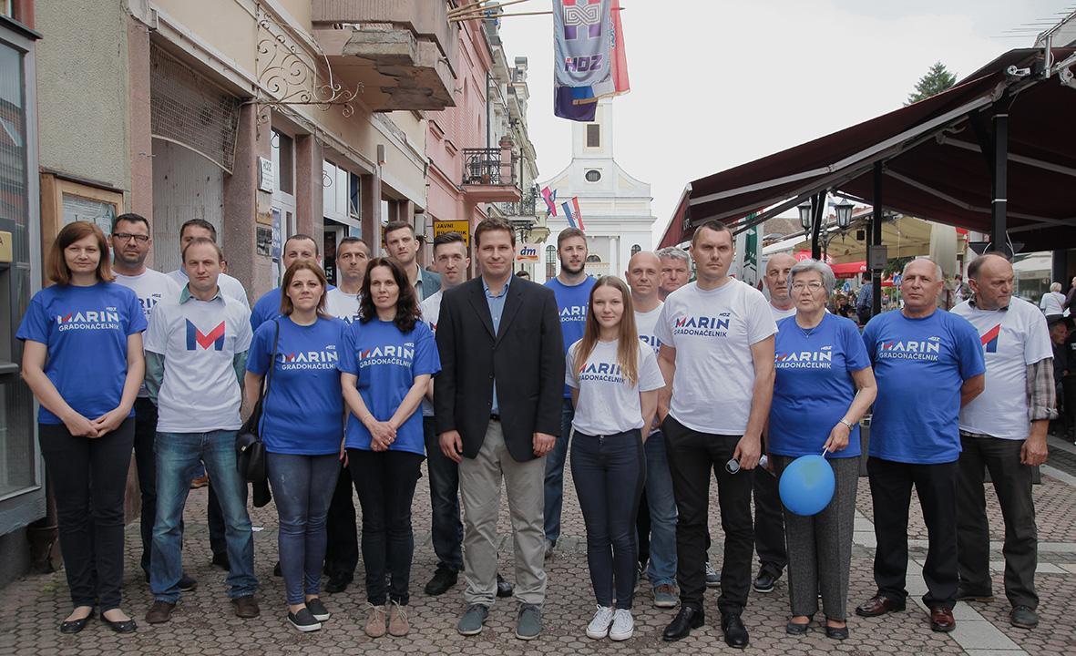HDZ ĐAKOVO – predstavljanje kandidata za Gradsko vijeće