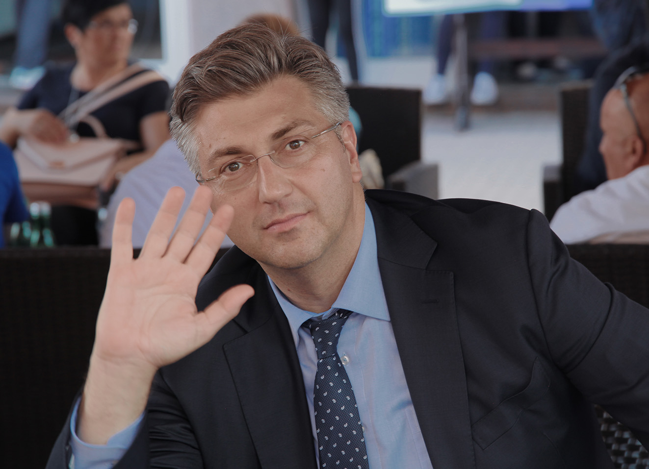 Posjet Andreja Plenkovića, predsjednika Vlade RH, Đakovu