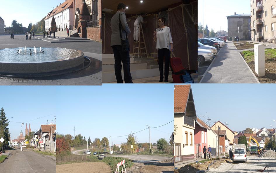Gradonačelnik Marin Mandarić obišao gradilišta u gradu i okolici