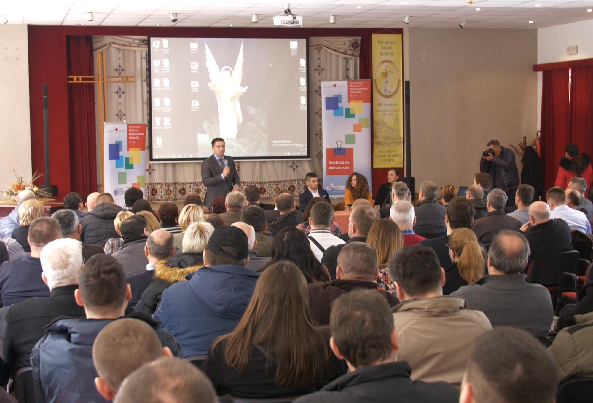 HAMAG-BICRO prezentacija za poduzetnike u Đakovu