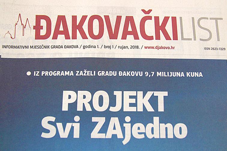 ĐAKOVAČKI LIST – Informativni mjesečnik Grada Đakova