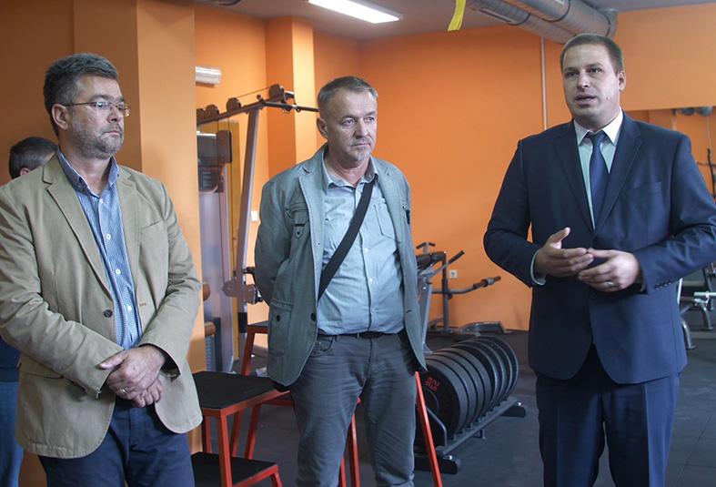 Svečano otvaranje dvorane za fitness u Đakovu