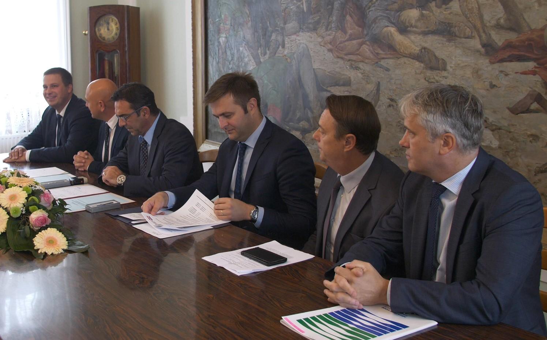 Svečano potpisivanje Ugovora za rekonstrukciju sustava odvodnje u Đakovu