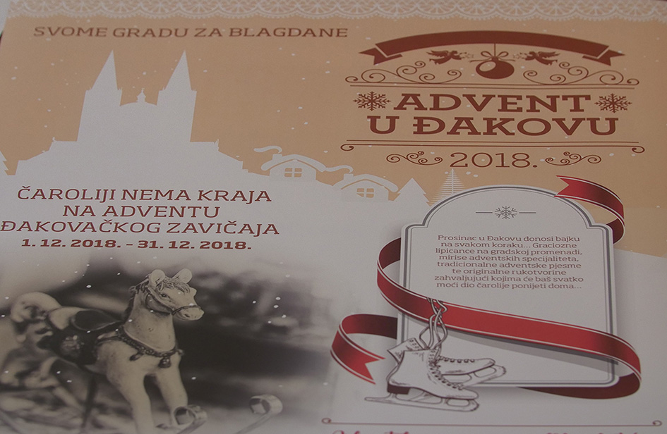 ADVENT U ĐAKOVU – press konferencija