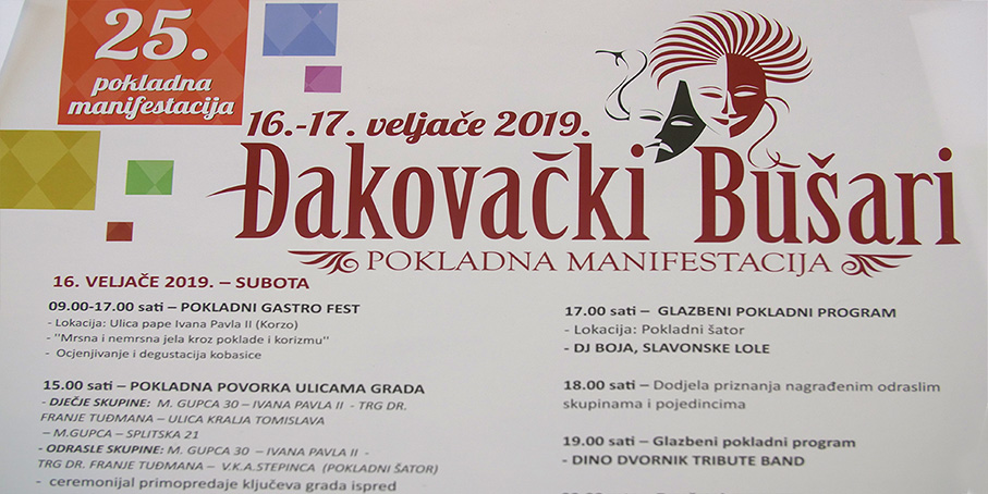 ĐAKOVAČKI BUŠARI 2019. – press konferencija