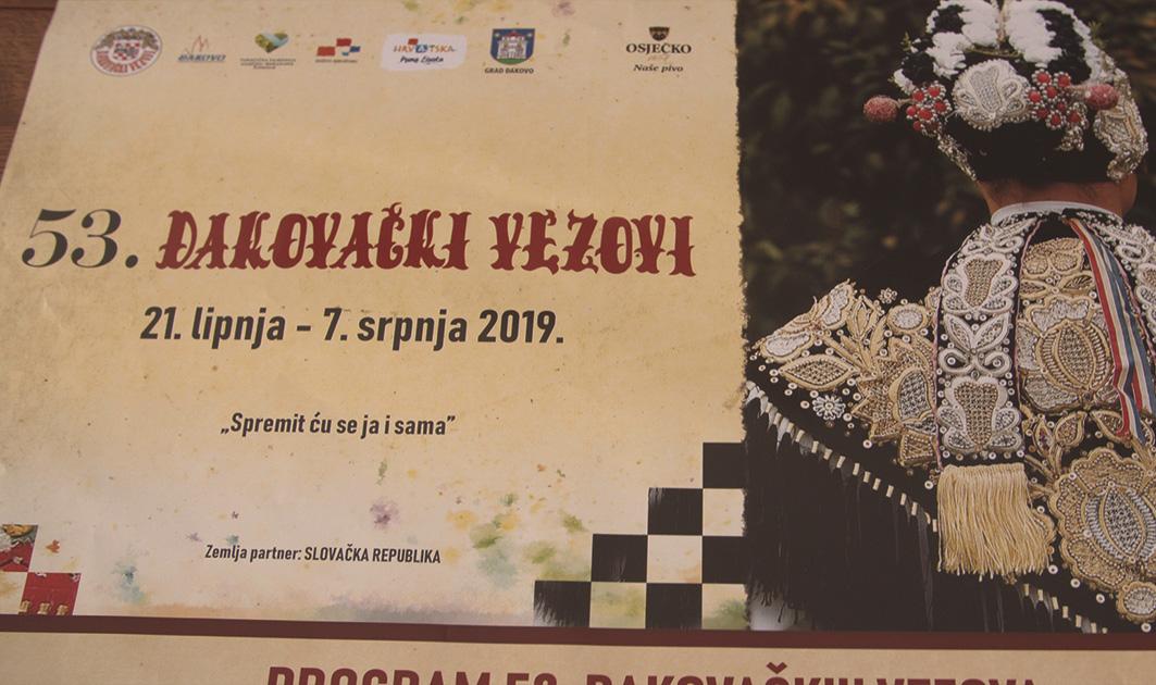 ĐAKOVAČKI VEZOVI 2019. – press konferencija
