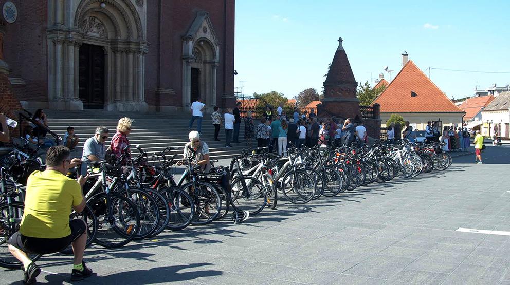Posjet biciklista iz Njemačke Đakovu