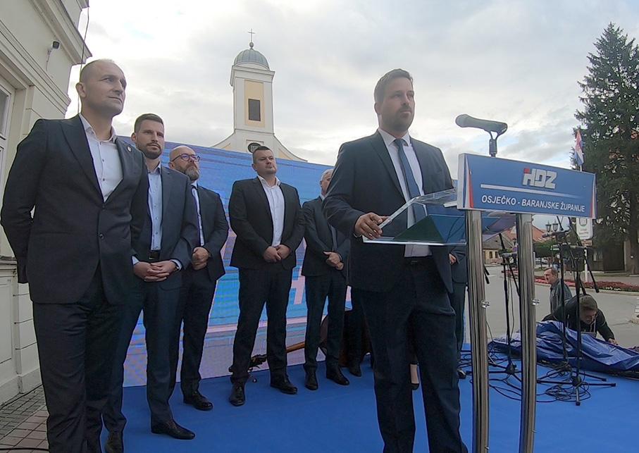 ĐAKOVO – HDZ predizborni skup za IV.Izbornu jedinicu