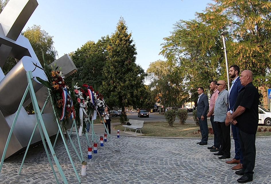 Obilježavanje obljetnice oslobađanja vojnih objekata u Đakovu – polaganje vijenaca