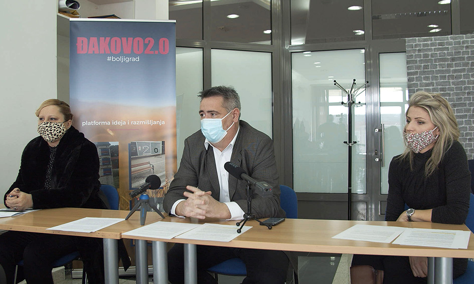 MOST ĐAKOVO – objava kandidature za gradonačelnika Đakova
