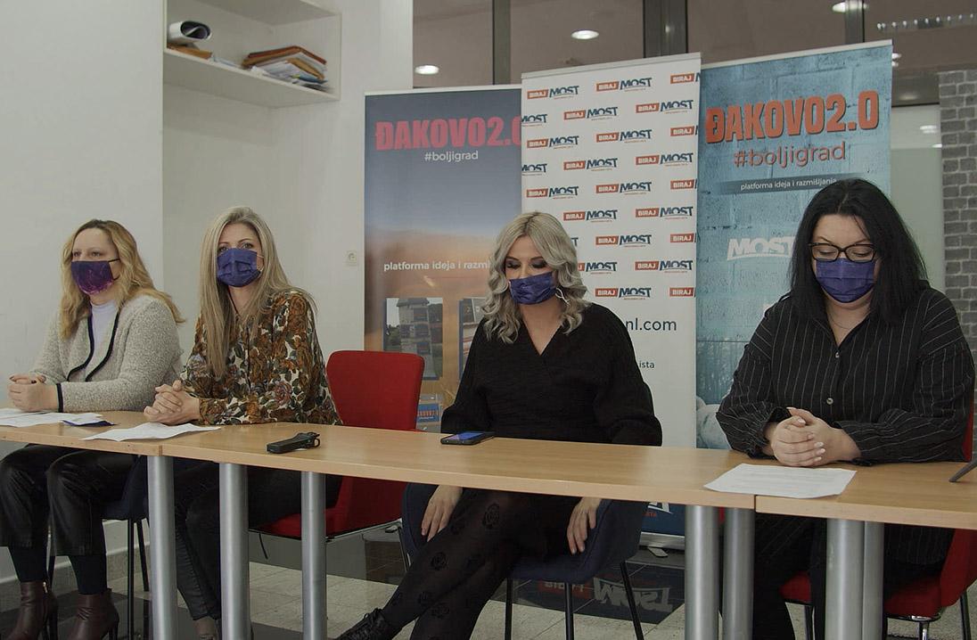 MOST ĐAKOVO – press konferencija povodom Dana žena