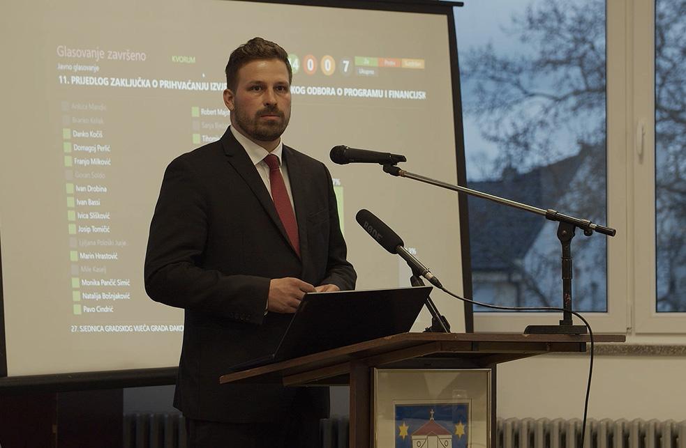 GRADSKO VIJEĆE GRADA0 ĐAKOVA 27.sjednica – prijenos 14.04.2021.