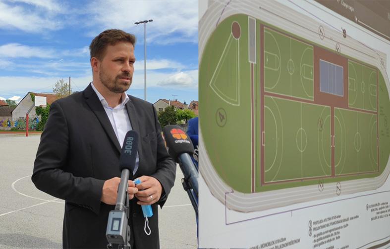 GRAD ĐAKOVO – donacija sredstava za sportska igrališta